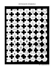 dungeon symbols