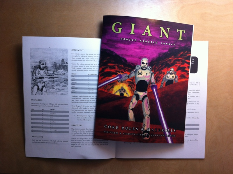 giant in print