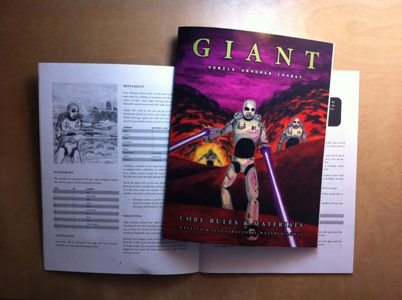 giant in print