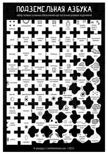 dungeon symbols - russian
