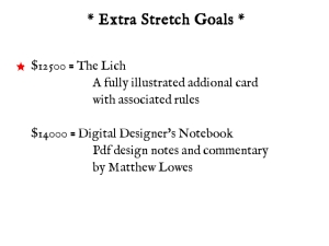 Extra Stretch Goals